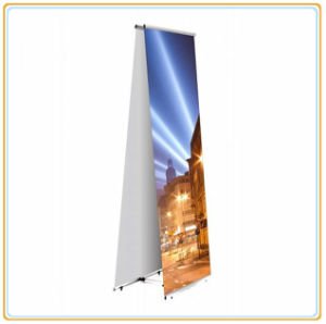 Double L Banner Stand/Ad Post Display Rack pictures & photos
