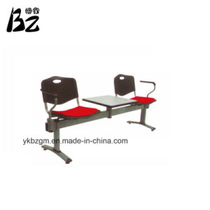 Steel Bank Waiting Chair with Table (BZ-0360) pictures & photos