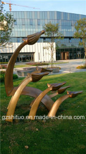 Free Flying, Outdoor Garden Sculpture Decoration, Glass Fiber Reinforced Plastic Materials pictures & photos