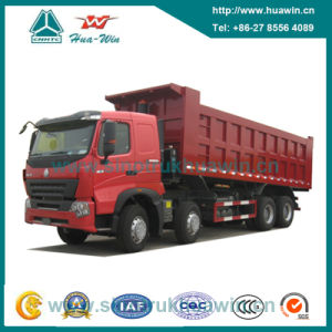 Sinotruk HOWO A7 8X4 Tipper Truck pictures & photos
