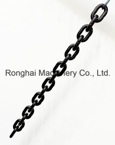 Grade 100 / 5mm*15mm Lifting Chain / 25CrNiMo / Chinese Standard /Black Painted