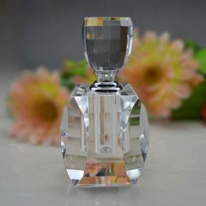 (LT002) Square Classic Crystal Perfume Bottle