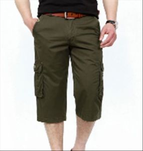 Fashion Men′s Side Pockets Cotton Outdoor Short Pants pictures & photos