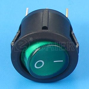 3pin Spst on-off LED Rocker Switch pictures & photos