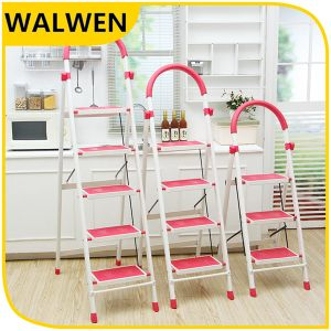 Factory Price 4 Step Domestic Foldable Aluminum Step Ladder pictures & photos