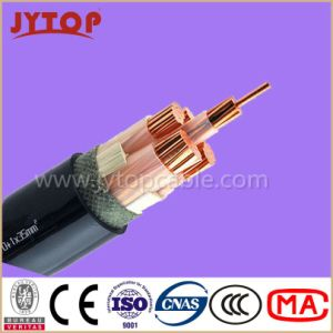 0.6/1kv Electrical Cable 3*70mm2+1*35mm2, Copper Cable, XLPE Insulation, PVC Sheath Power Cable pictures & photos