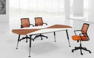 Metal Leg Simple Style Commercial Office Furniture Conference Table (HF-BB024) pictures & photos