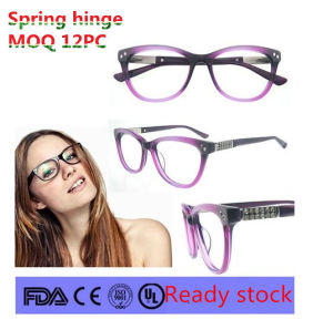 2016 Hot Sale Women with Eyewear Frame Diamond Ornament pictures & photos
