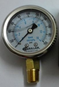 Sullair Compressor Replacement Spare Parts 040691 Pressure Indicator Guage pictures & photos