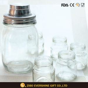 Glass Mason Jar with Lid Water Container Mason Jar pictures & photos