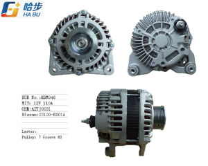 Alternator for Nissan 12V110A OE# A2tj0591, 23100-ED01A pictures & photos