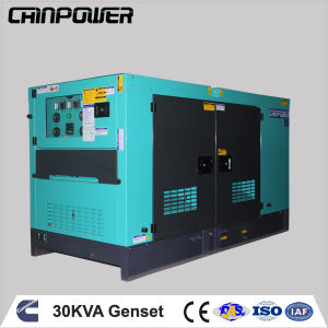 35kVA 28kw 60Hz 1pH Cummins Silent Diesel Generator Set