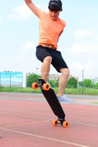 Fashion Four Wheel Electric Smart Remoter Skateboard pictures & photos