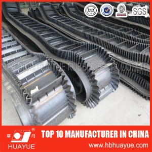 Large Angle Sidewall Cleated Conveyor Belt pictures & photos