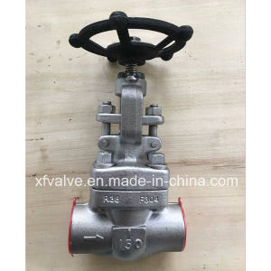 API602 Forged Carbon Steel or Stainless Steel Thread Globe Valve