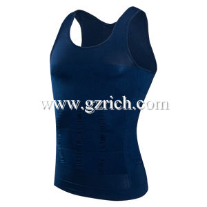 Mens Slimming Body Shaper Vest pictures & photos