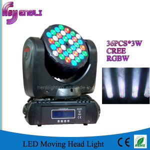 36PCS CREE LED Beam Moving Head for Stage Disco (HL-007BM) pictures & photos