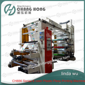 High Speed Six Color Flexographic Printing Machine (CE) pictures & photos