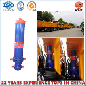 Front End Dump Hydraulic Cylinder for Vietnam Dump Truck Cylinder pictures & photos