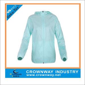 Women′s Zip up Vapor Custom Running Sports Jacket pictures & photos
