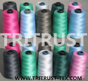 Polyester Spun Yarn for Sewing Thread (52s/2) pictures & photos