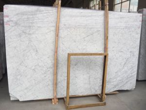New Snow White Marble Slab, Floor Tile and Marble for Decoration pictures & photos