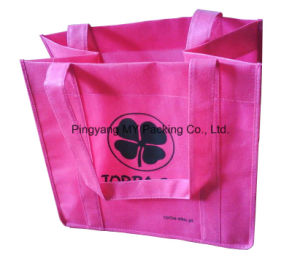 Custom Print Advertising Nonwoven Bag for Shopping pictures & photos