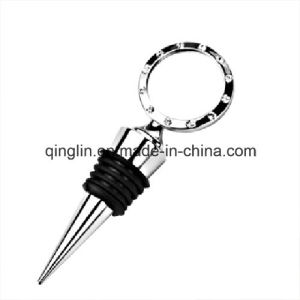 Custom Wedding Favor, Wedding Gift, Metal Wine Stopper (QL-HJS-0012) pictures & photos