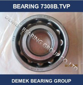 Angular Contact Ball Bearing 7308 B. Tvp with Polymide Cage pictures & photos