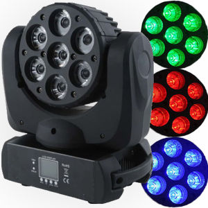 7*15W RGBW Razor Beam Mini LED Moving Head (GA-LM0715) pictures & photos