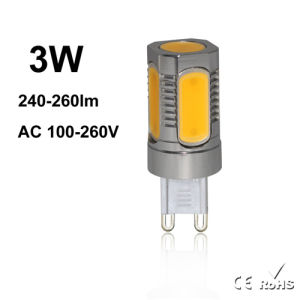 High Quality AC260V COB Mini G9 LED Light pictures & photos
