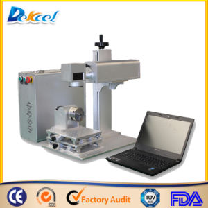 Portable Mini Fiber Laser Marking Machine/Metal Marking Laser Machine for Sale pictures & photos