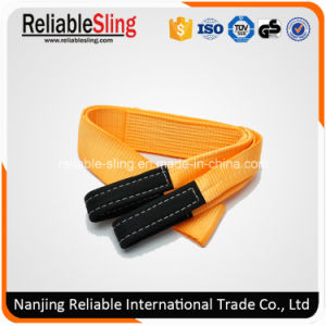 Custom 100% Polyester Heavy Duty off- Road Recovery Vehicle Tow Strap pictures & photos