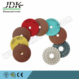 4 Inch Water Polishing Pads for Granite Marble Concrete pictures & photos