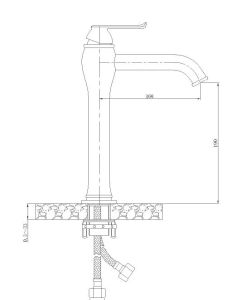 Single-Hole Basin Mixer G93001-3 G93001-1 Basin Faucet pictures & photos