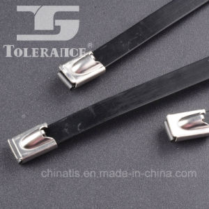 PVC Covered Self Locking Stainless Steel Cable Tie pictures & photos