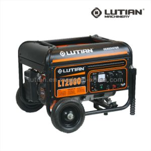 2.5kw Round Tube Line Gasoline Generator with Electric Starter pictures & photos