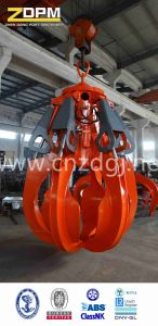 Hydraulic Orangel Peel Grab for Cargo Lifting pictures & photos