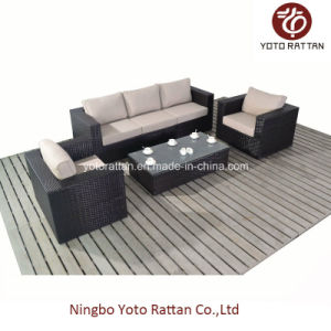 Outdoor Wicker Sofa Set in Brown (1106) pictures & photos