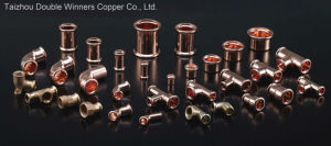 Copper Press Fitting for Plumbing pictures & photos