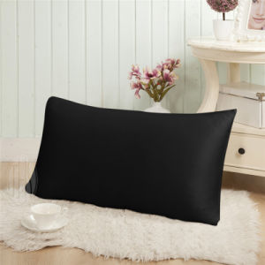 Black Color 19mm Mulberry Silk Pillow Case with Oeko Certificate pictures & photos