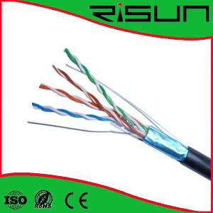 China Best Internet FTP 24AWG 4p Cable Cat5e pictures & photos