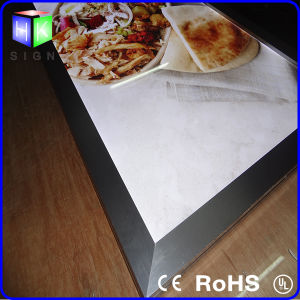 Snap Frame Aluminum Frame for LED Light Box Menu Board Light Panel pictures & photos