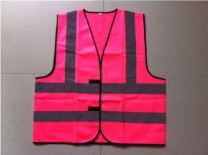 High Visibility Waistcoat with Reflective Tape pictures & photos