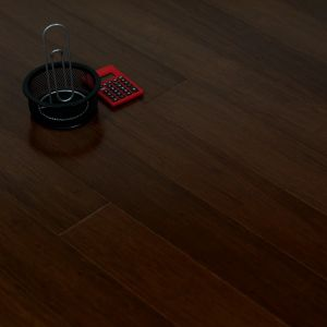 Strand Woven Bamboo Flooring Coffee Color UV Laxquer Smooth pictures & photos
