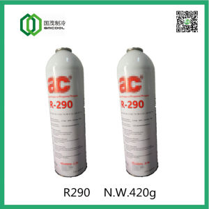 Enviromental Friendly Refrigerant Gas R290 for Domestic Air Conditioner pictures & photos