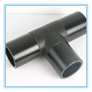 HDPE Fittings Equal Tee (Sockt Joint) for Water Supply Pipe