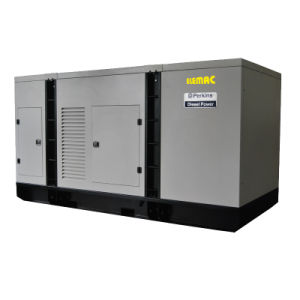 136kVA Powered by Perkins Engine Soundproof Diesel Generator