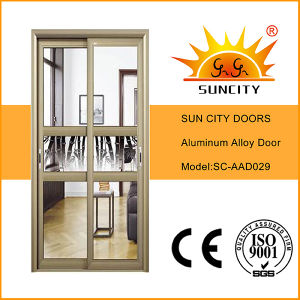 Balcony Moving Aluminum Alloy Doors (SC-AAD029) pictures & photos
