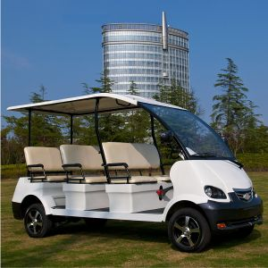 8 Person Park Use Electric Cart for Scenery View (DN-8) pictures & photos